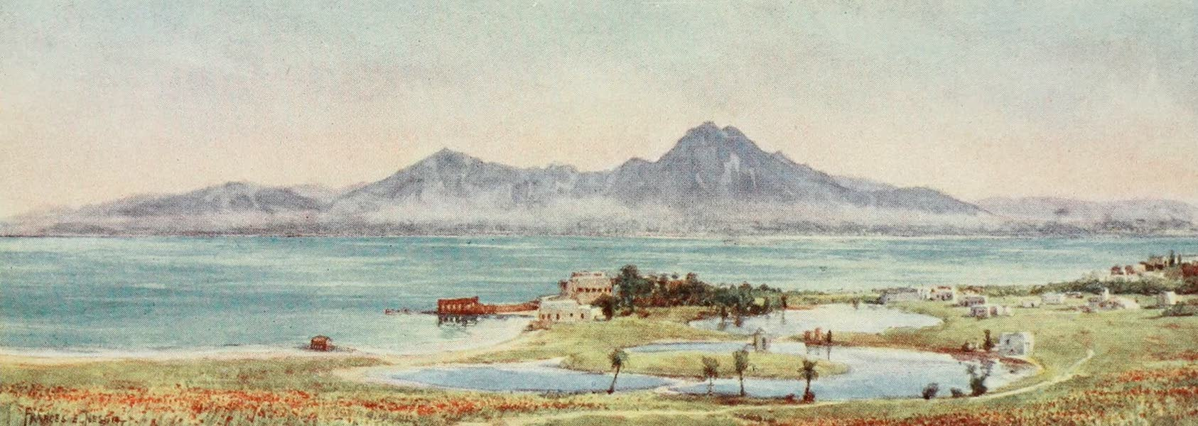 Algeria and Tunis, Painted and Described - The Ancient Ports of Carthage (1906)