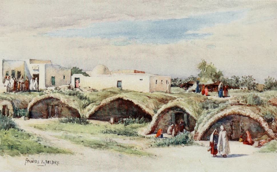 Algeria and Tunis, Painted and Described - The Old Punic Cisterns, Carthage (1906)