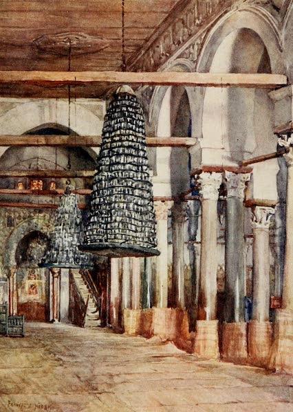 Algeria and Tunis, Painted and Described - Mosque of Sidi Okba, Kairouan (1906)
