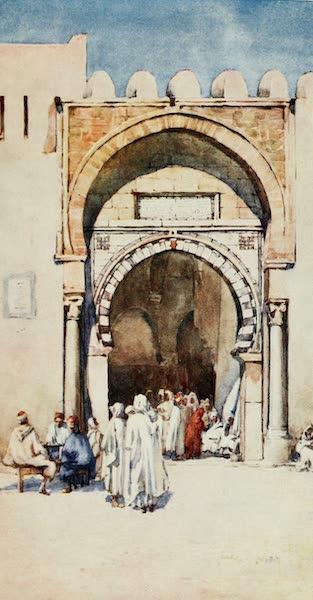 Algeria and Tunis, Painted and Described - Moorish Gateway, Kairouan (1906)