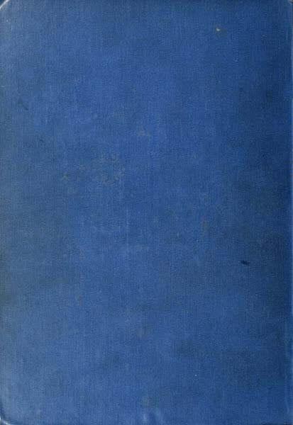 Algeria and Tunis, Painted and Described - Back Cover (1906)