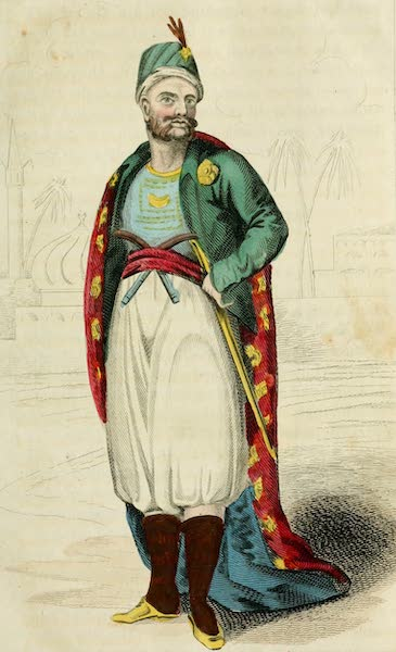 Algiers: Being a Complete Picture of the Barbary States - Dey of Algiers (1817)