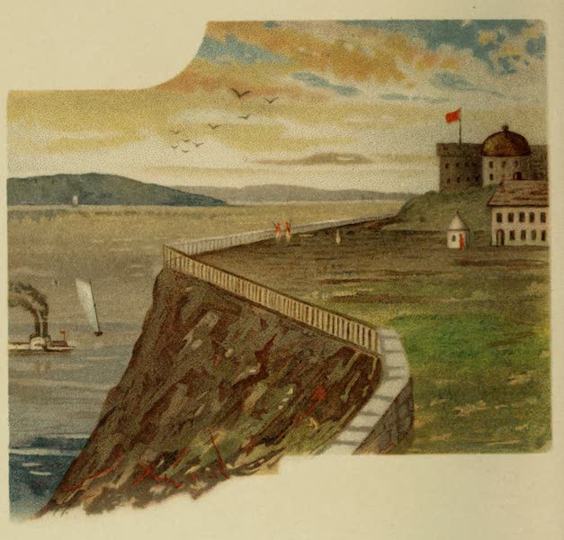 Along the Banks of the St. Lawrence River - Durham Terrace (1885)