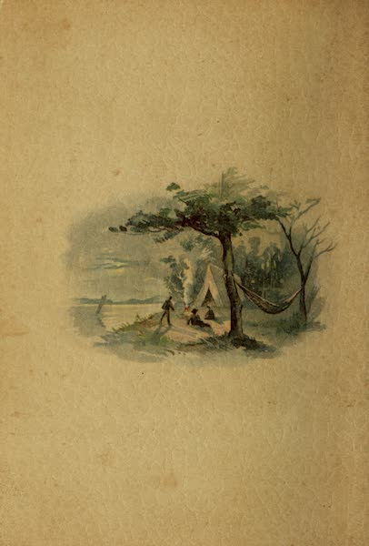 Along the Banks of the St. Lawrence River - Back Cover (1885)