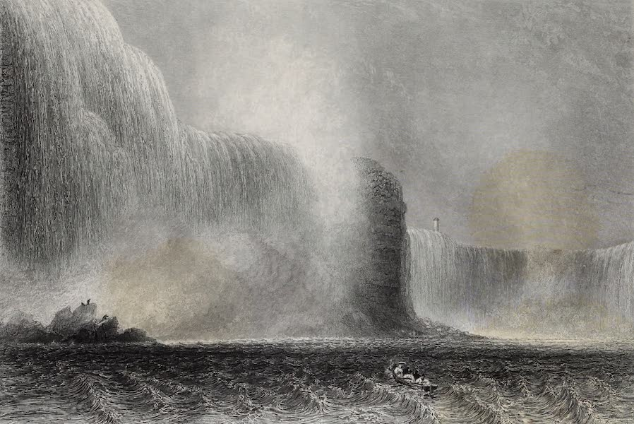 American Scenery Vol. I - Niagara Falls from the Ferry (1840)