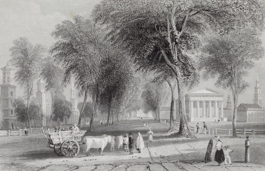 American Scenery Vol. I - Yale College (Newhaven) (1840)