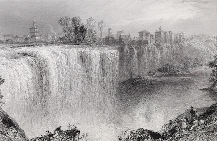 American Scenery Vol. I - The Genesse Falls, Rochester (1840)