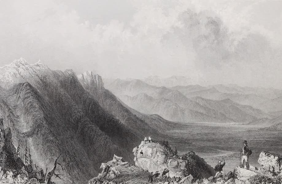 American Scenery Vol. I - View from Mount Washington (1840)