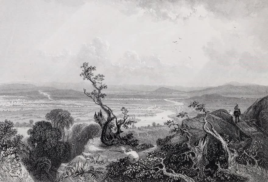American Scenery Vol. I - Valley of the Connecticut (from Mount Holyoke) (1840)