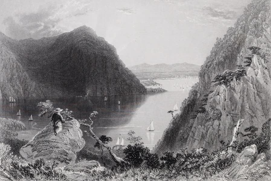 American Scenery Vol. I - Hudson Highlands (from Bull Hill) (1840)
