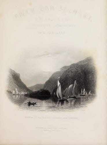 Aquatint & Lithography - American Scenery Vol. II