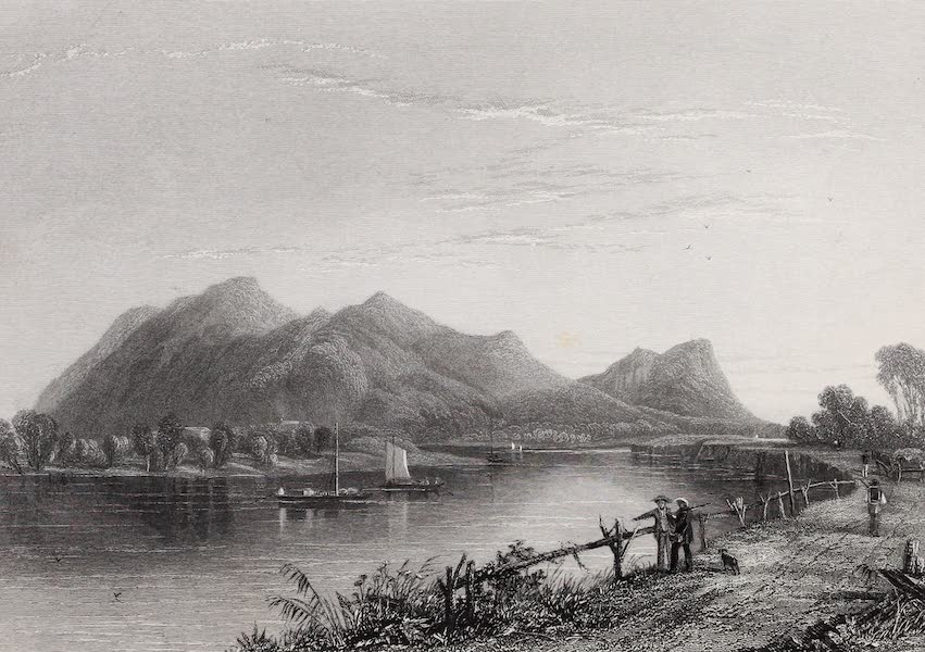 American Scenery Vol. II - Mount Tom and the Connecticut River (1840)