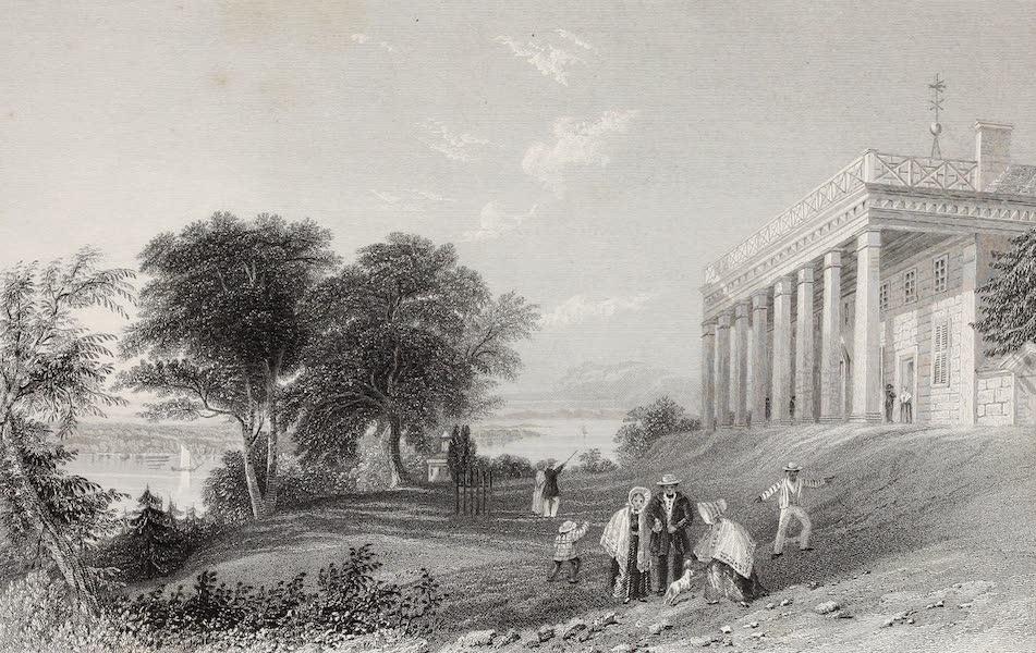American Scenery Vol. II - Washington's House, Mount Vernon (1840)