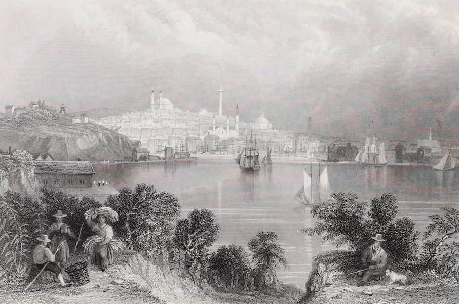 American Scenery Vol. II - View of Baltimore (1840)