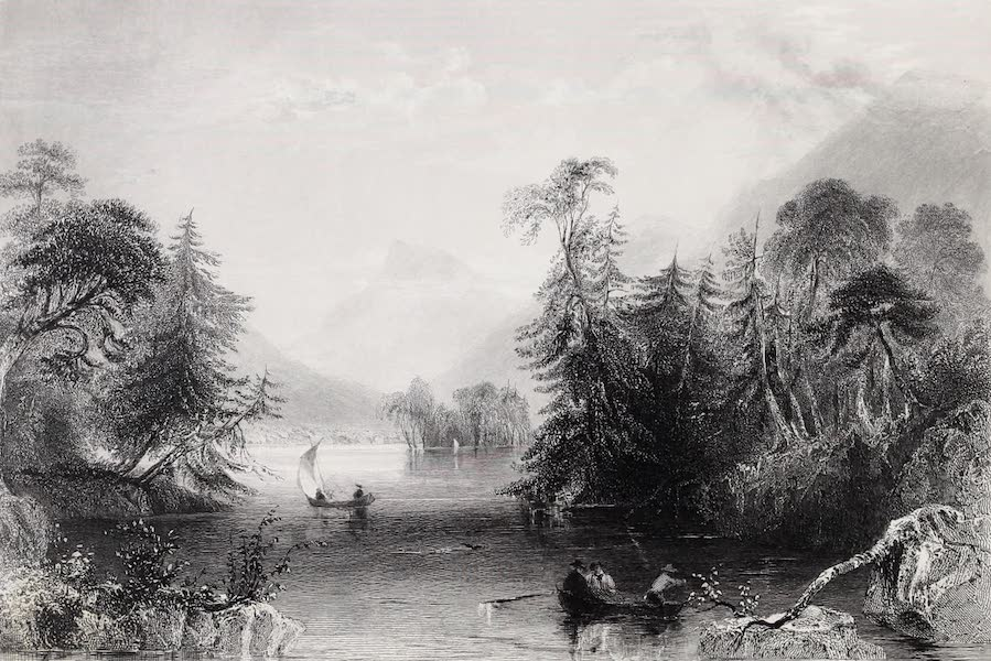 American Scenery Vol. II - The Narrows, Lake George (1840)