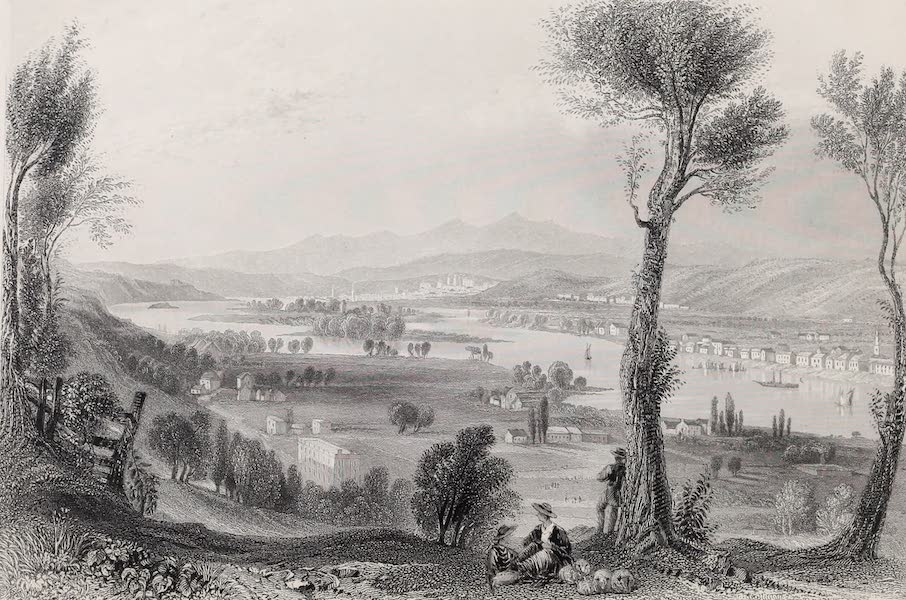 American Scenery Vol. II - View from Mount Ida (near Troy) (1840)