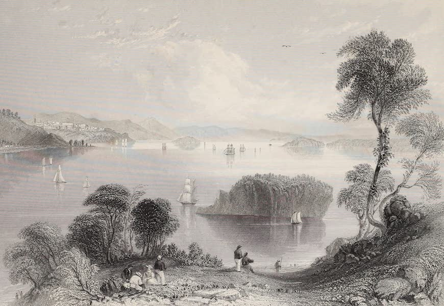 American Scenery Vol. II - East Port and Passamaquoddy Bay (1840)