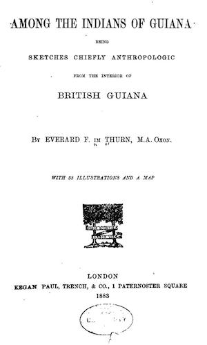 English - Among the Indians of Guiana