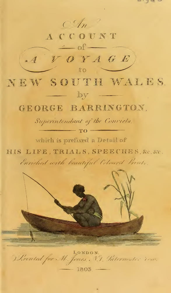 Aquatint & Lithography - An Account of a Voyage to New South Wales