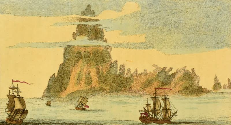 An Account of a Voyage to New South Wales - The Peak of Teneriffe (1803)