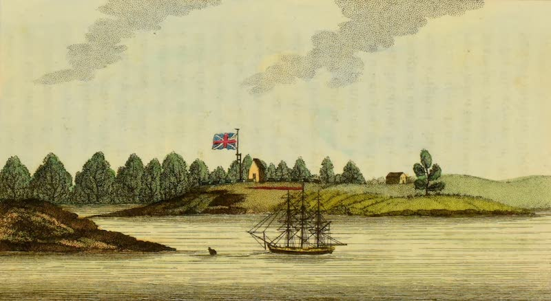 An Account of a Voyage to New South Wales - Entrance of the Paramatta River (1803)