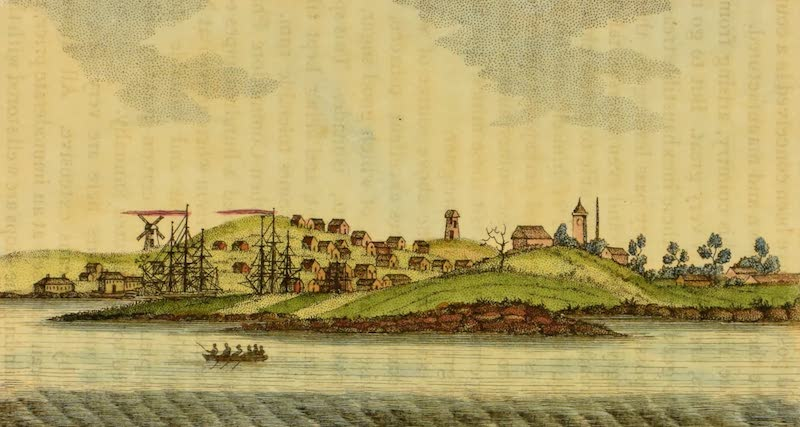 An Account of a Voyage to New South Wales - Town and Cove of Sydney (1803)
