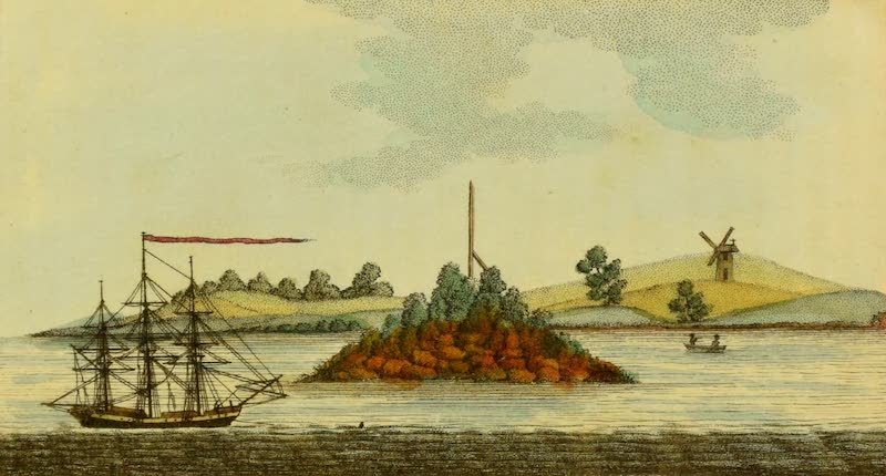 An Account of a Voyage to New South Wales - Pinchgut Island (1803)