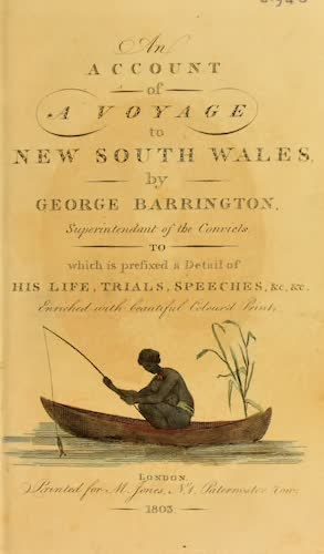 An Account of a Voyage to New South Wales - Title Page (1803)