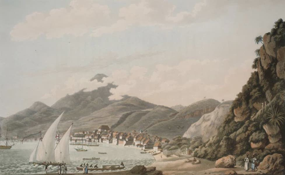 An Account of the Campaign in the West Indies - To Major Hare, of the 12th Light Dragoons, This view of the Bay & Town of St Pierre is inscribed by his sincere & obliged Friend, Cooper Willyams (1796)
