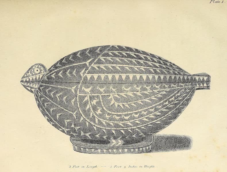 An Account of the Pelew Islands - Plate 1 (1788)