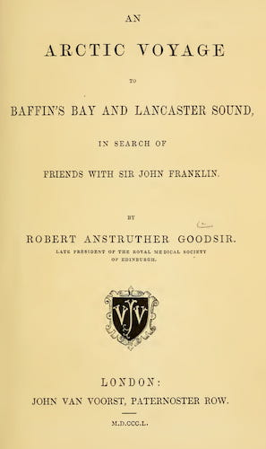 English - An Arctic Voyage to Baffin's Bay and Lancaster Sound