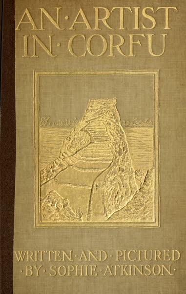 An Artist in Corfu - Front Cover (1911)