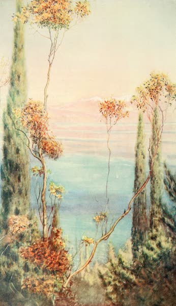 An Artist in Corfu - An Afternoon in Spring (1911)