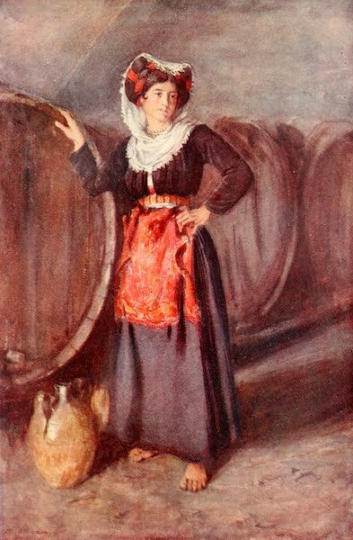 An Artist in Corfu - A Gastouri Belle (1911)