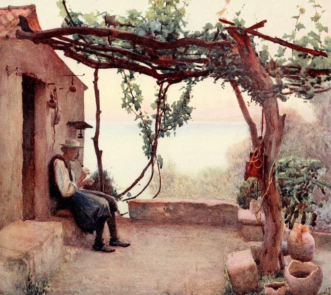 An Artist in Corfu - Babadoni at Home (1911)