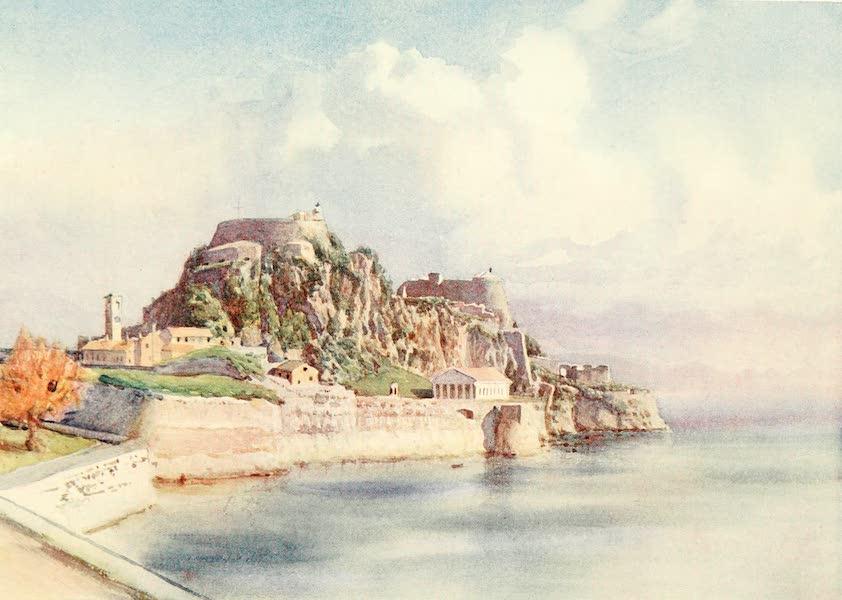 An Artist in Corfu - Fortezza Vecchia (1911)