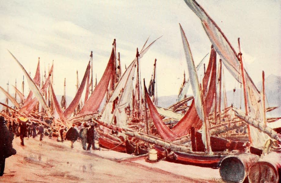 An Artist in Corfu - The Fishing Port (1911)