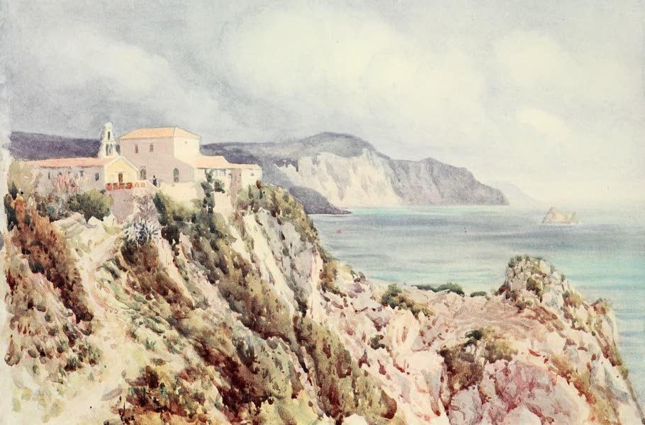 An Artist in Corfu - Paleokastrizza (1911)