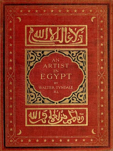 Chromolithography - An Artist in Egypt
