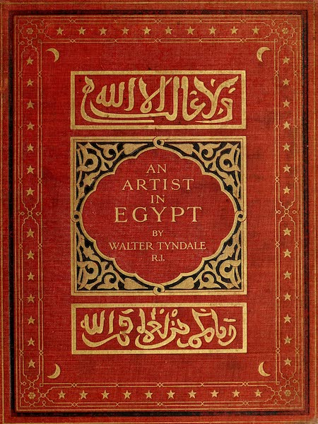 An Artist in Egypt - Front Cover (1912)