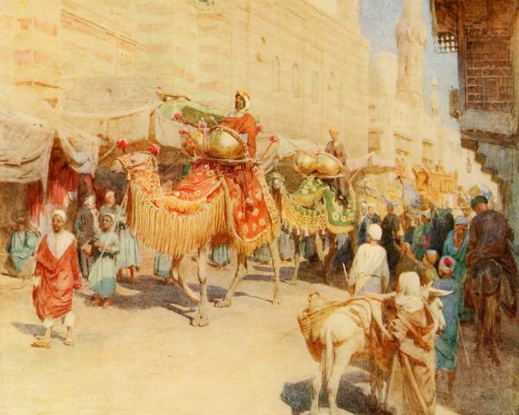 An Artist in Egypt - An Arab Wedding Procession (1912)