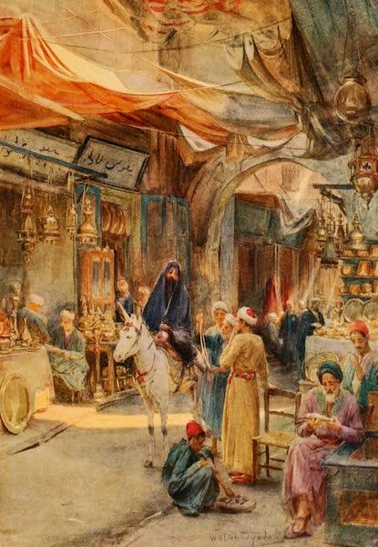 An Artist in Egypt - The Khan Khalil, Cairo (1912)