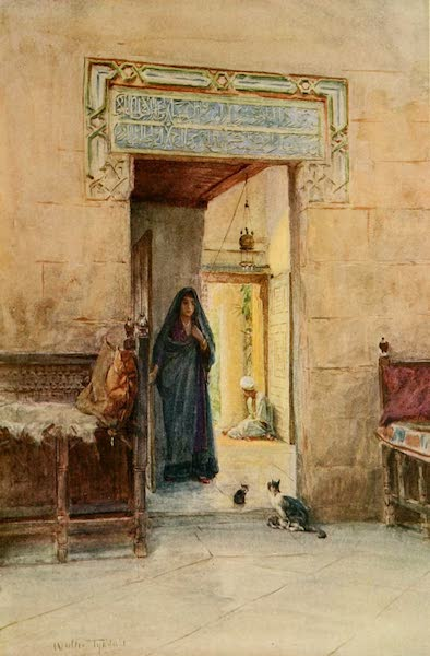 An Artist in Egypt - Entrance to the Hareem (1912)