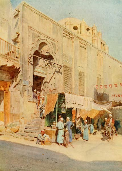 An Artist in Egypt - Mosque of Mohammed Bey (1912)