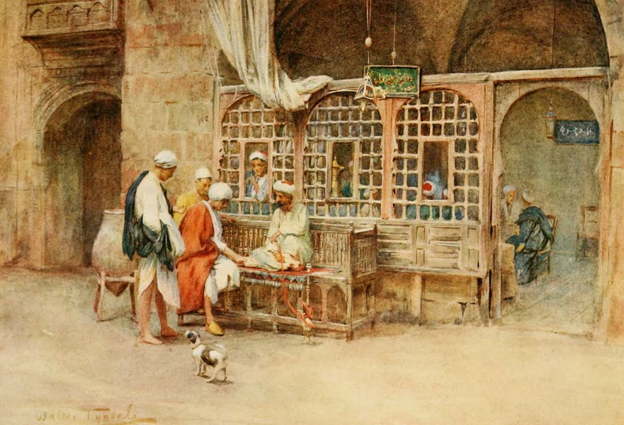An Artist in Egypt - A Cairene Cafe (1912)