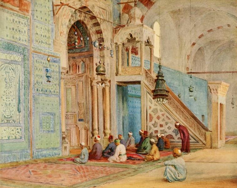 An Artist in Egypt - The Blue Mosque (1912)