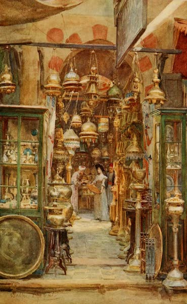 An Artist in Egypt - The Store of Nassan (1912)