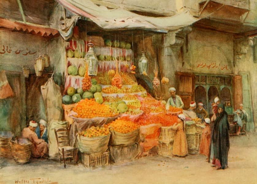 An Artist in Egypt - A Fruit-stall at Bulak (1912)