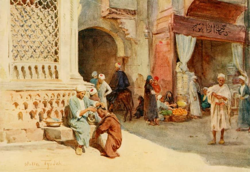 An Artist in Egypt - The Hairdresser (1912)