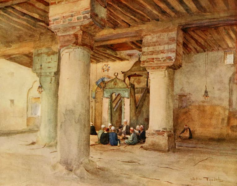 An Artist in Egypt - The Mosque at Kosseir (1912)